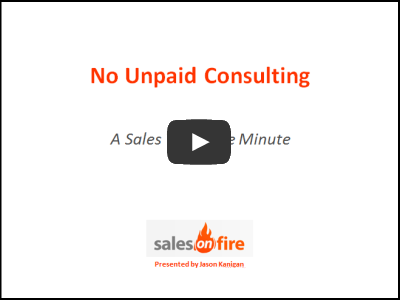 No Unpaid Consulting
